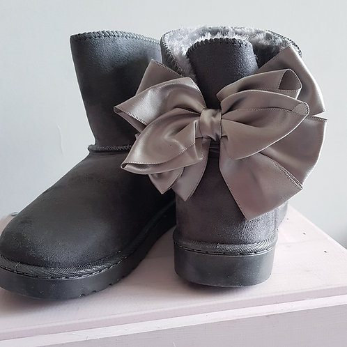 Girls Bow Boots *3 colours*