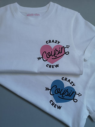 Ollie&Millie's Own - Crazy Cousin Crew Tee