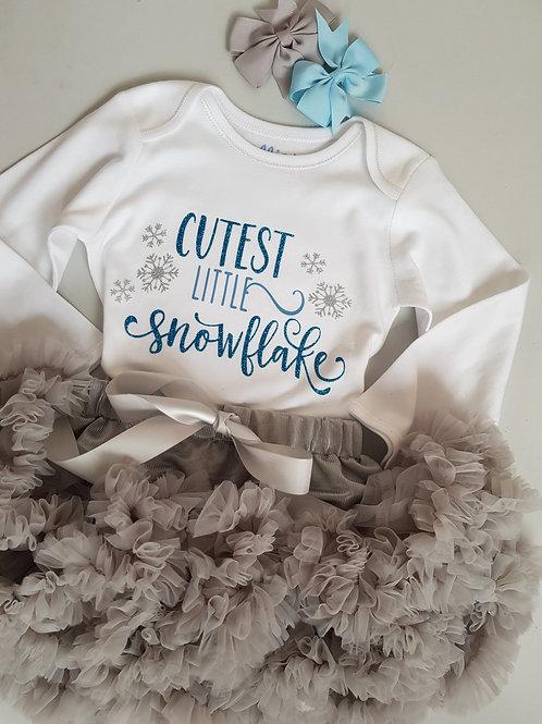 Ollie&Millie's Own - Cutest Little Snowflake