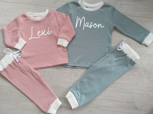 Ollie&Millie's Own - Personalised Contrast Set