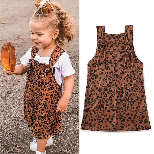 Brown Animal Print Tunic