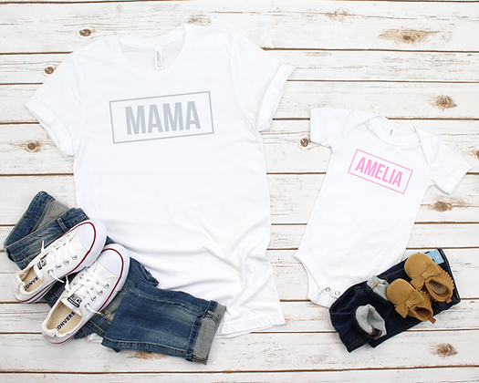 Ollie&Millie's Own - Mama & Mini Tees (sold separately)