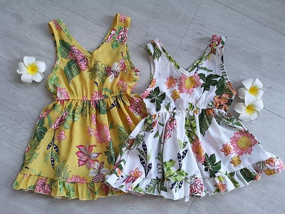 Summer Floral Print Dress