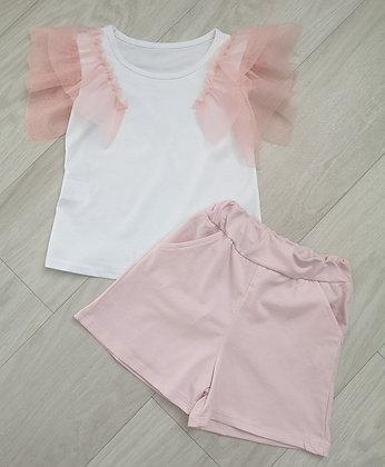 Pink Ruffle Summer Set