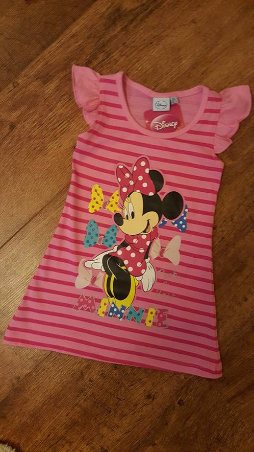 Official Disney Minnie Mouse Summer Dress PINK