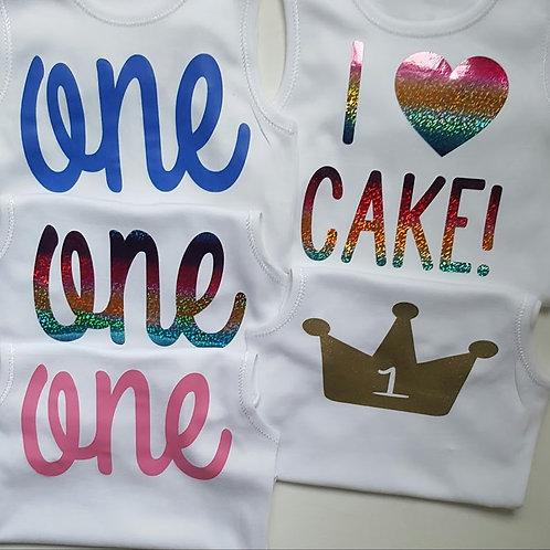 Ollie&Millie's Own - 'ONE' Sleeveless Vest