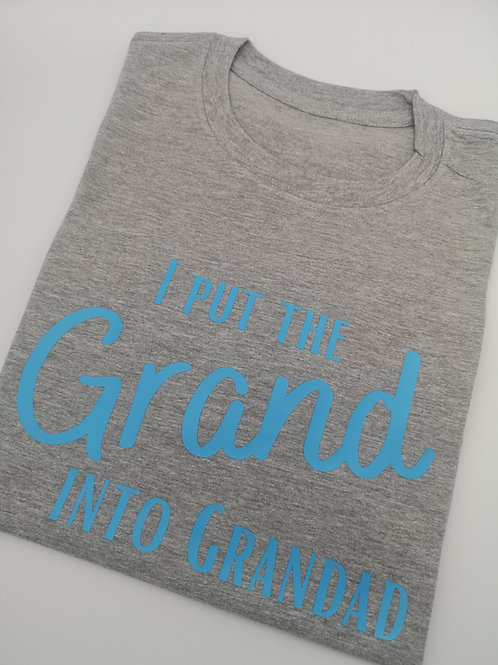 Ollie&Millie's Own - I put the grand into Grandad