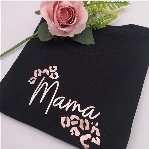 Leopard Print Mama Sweater