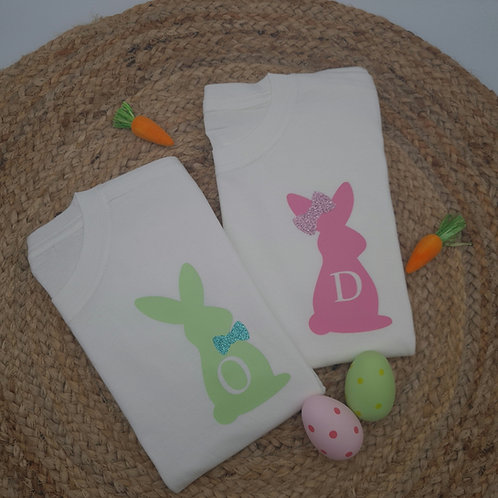 Ollie&Millie's Own - (Adult) Personalised Initial Bunny