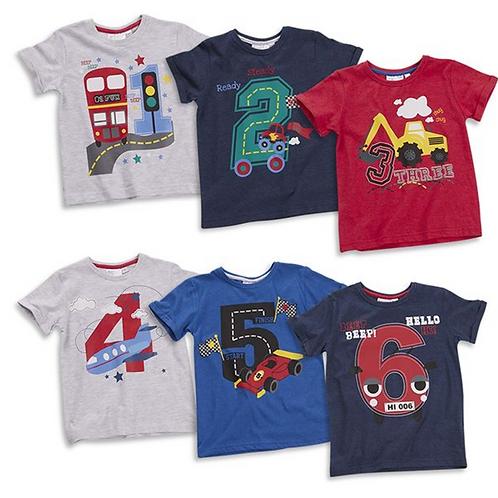 Boys Age T-shirts
