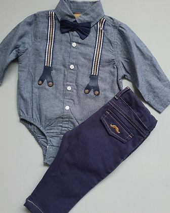 Boys shirt & jeans set
