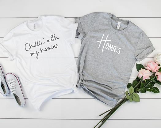 Ollie&Millie's Own - Homies Tee