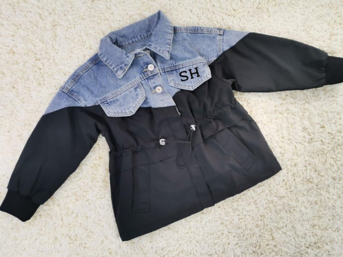 Personalised denim style jacket