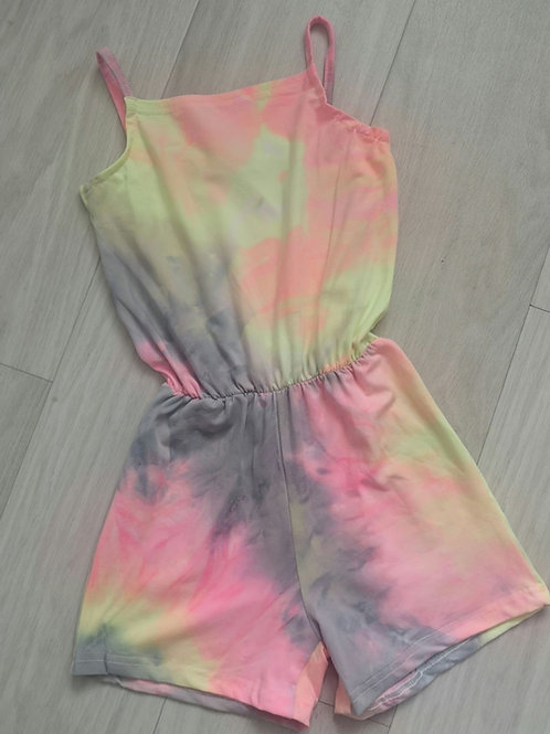 Personalised Tie Dye Playsuit