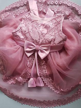 Dusky Pink Party Dress