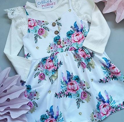 Floral Strap Dress (2 designs)