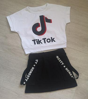 TikTok top & skirt