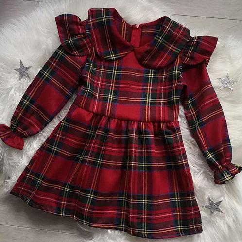 Ruffle Tartan Dress (2 designs)