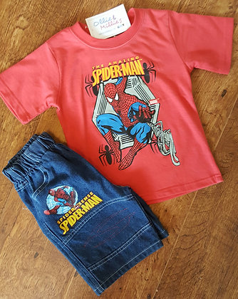 Spiderman T-shirt & Shorts