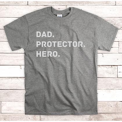 Ollie&Millie's Own - Dad. Protector. Hero.