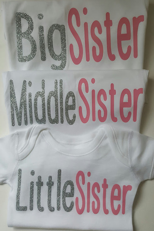 Ollie&Millie's Own - Big/Middle/Little Sister