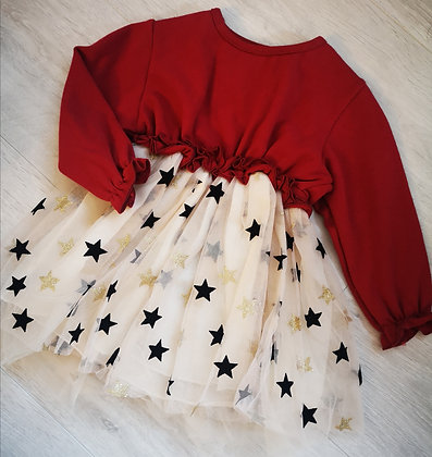 Long sleeved star dress