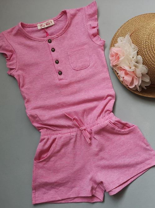 Pink Basic Playsuit