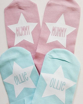 Ollie&Millie's Own - Mummy & Me Socks