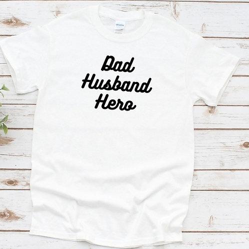 Ollie&Millie's Own - Dad Husband Hero tee