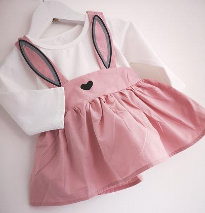Bunny Pinafore Dress