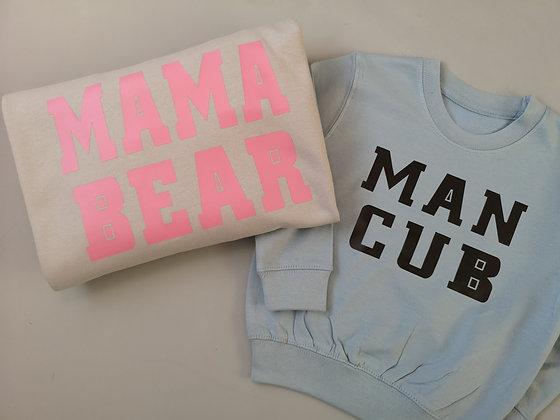 Me&Mini - Mama Bear & Man Cub