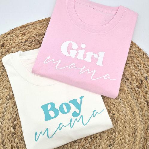 Boy/Girl Mama tee