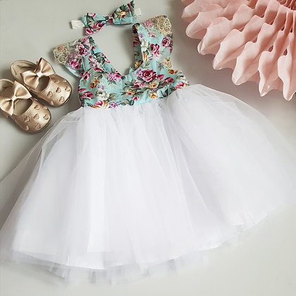 Floral Tutu Dress *2 Designs*