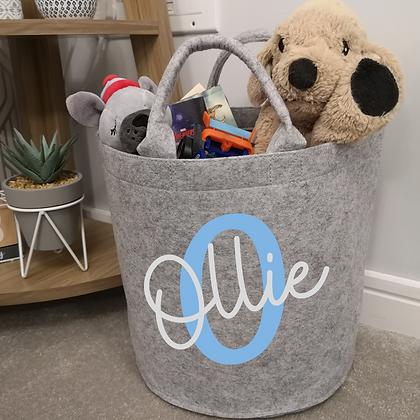 Ollie&Millie's Own - Personalised Storage Basket,