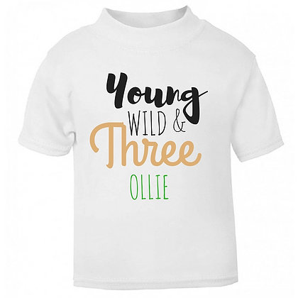 Ollie&Millie's Own - Young, Wild & Three
