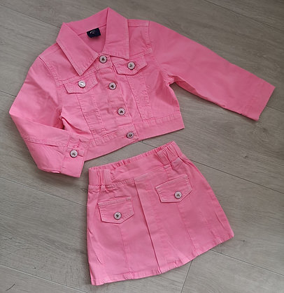 Pink Denim Set