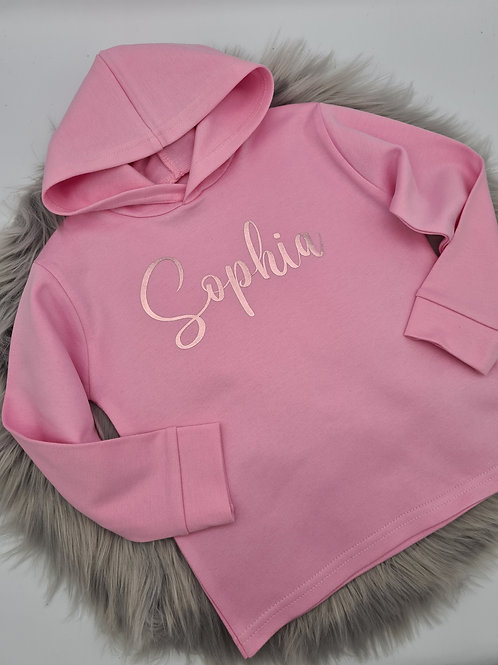 Personalised Cotton Hoody Top