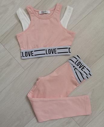 Love Crop & Leggings Set