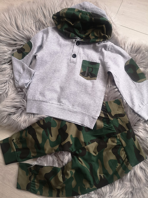 Personalised camo pocket set