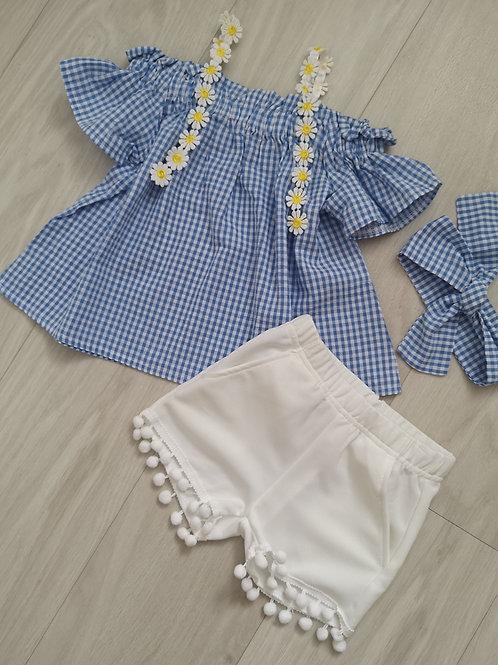 Blue daisy set