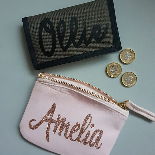 Ollie&Millie's Own - Personalised Wallet