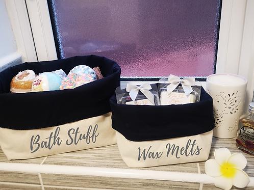 Ollie&Millie's Own - Canvas Organiser Set