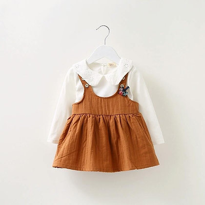 Autumn Baby Girls Pinafore Dress *3 colours*
