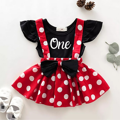 Ollie&Millie's Own - Personalised Polka Dot Set