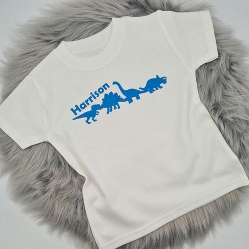 Personalised Dino squad t-shirt