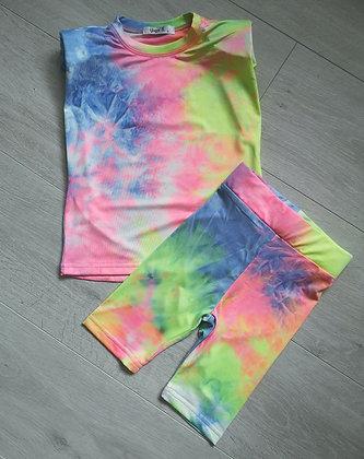 Neon Tie Dye Summer Set