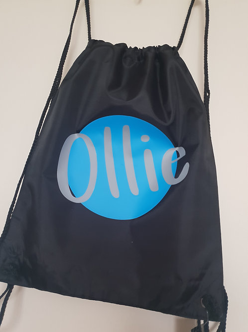 Ollie&Millie's Own - Named Drawstring Bag