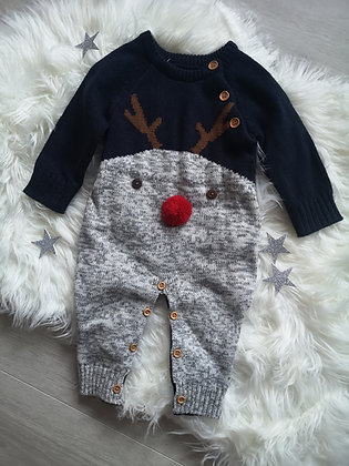 Knitted Reindeer Suit
