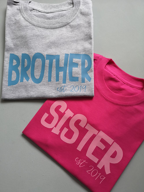 Ollie&Millie's Own - Sister/Brother est Tee