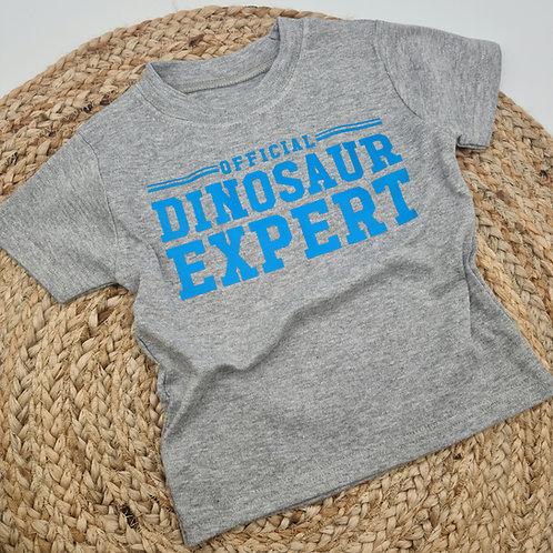 Official dinosaur expert tee